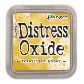 Чернильная подушечка Ranger DISTRESS OXIDE PAD FOSSILIZED AMBER