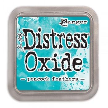 Чернильная подушечка Ranger DISTRESS OXIDE PAD PEACOCK FEATHERS