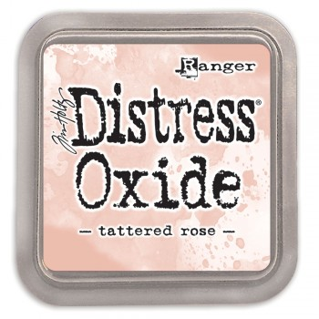 Чернильная подушечка Ranger DISTRESS OXIDE PAD TATTERED ROSE