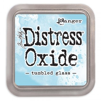 Чернильная подушечка Ranger DISTRESS OXIDE PAD TUMBLED GLASS