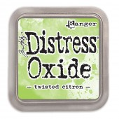 Чернильная подушечка Ranger DISTRESS OXIDE PAD TWISTED CITRON