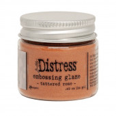 Пудра для эмбоссинга Ranger DISTRESS EMBOSSING GLAZE TATTERED ROSE