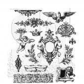 Набор резиновых штампов Tim Holtz URBAN ELEMENTS