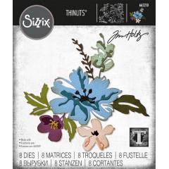 Набор ножей для вырубки Sizzix BRUSHSTROKE FLOWERS #2