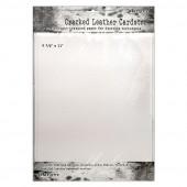 Лист кардстока с текстурой под кожу Ranger TIM HOLTZ DISTRESS CRACKED LEATHER CARDSTOCK 21х27см