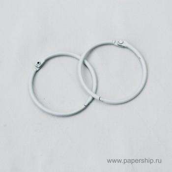 Кольца для альбомов Рукоделие БЕЛЫЕ 35мм