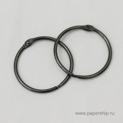 Кольца для альбомов Рукоделие СЕРЕБРО 50мм