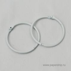 Кольца для альбомов Рукоделие БЕЛЫЕ 50мм