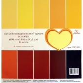 Набор текстурного кардстока Рукоделие АССОРТИ-1 30x30см