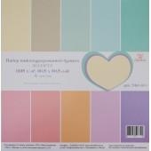 Набор текстурного кардстока Рукоделие АССОРТИ-3 30x30см