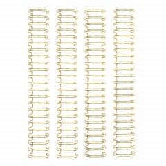 Пружины для биндера We R Memory Keepers 2,54см GOLD 4шт цвет золото