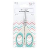 Ножницы Crafty Tailor ВЫШИВАЛЬНЫЕ 11,4см (пластиковые ручки с резиновыми вставками)