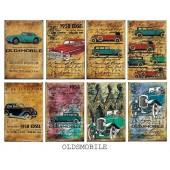 Карточки Decorer OLDSMOBILE новые (распродажа)