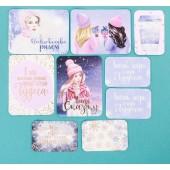 Карточки с фольгированием Снежная зима АртУзор Новый (распродажа)