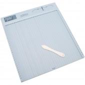 Доска для биговки Scor-Pal 30х30см в сантиметрах с палочкой для биговки Б/у(распродажа)