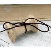 Шнур декоративный Scrapberry's коричневый 2м