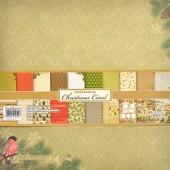 Набор бумаги для скрапбукинга Scrapberry's НОЧЬ ПЕРЕД РОЖДЕСТВОМ 30x30см