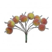 Декоративные яблочки в обсыпке