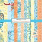 Набор бумаги для скрапбукинга Scrapberry's СКАЗКИ МОРЯ 15x15см