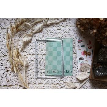 Набор ножей для вырубки ScrapFriend ДЛЯ ВЫРУБКИ АТС (ARTIST TRADING CARD)