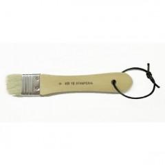 Кисть плоская натуральная щетина Stamperia 3,2см