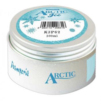 Паста для текстурирования Stamperia ARCTIC ICE 100мл прозрачная