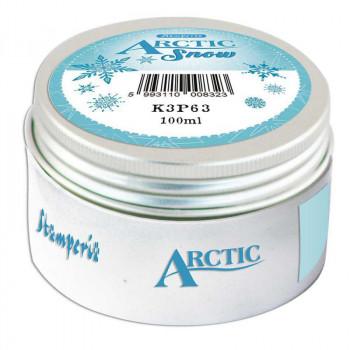 Паста для текстурирования Stamperia ARCTIC SNOW 100мл белая