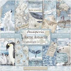 Набор бумаги для скрапбукинга Stamperia ARCTIC ANTARCTIC 20х20см