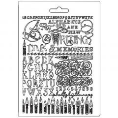 Форма для моделирования Stamperia TEXTURE IMPRESSION A5 ART INK AND MEMORIES