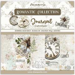 Набор бумаги для скрапбукинга Stamperia ROMANTIC JOURNAL 30х30см