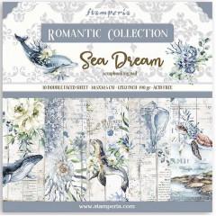 Набор бумаги для скрапбукинга Stamperia ROMANTIC SEA DREAM 30х30см