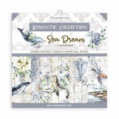 Набор бумаги для скрапбукинга Stamperia ROMANTIC SEA DREAM 20х20см