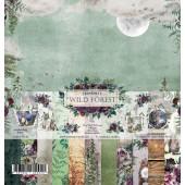 Набор бумаги для скрапбукинга Summer Studio WILD FOREST 30х30см