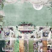 Набор бумаги для скрапбукинга Summer Studio WILD FOREST 20х20см
