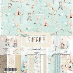 Набор бумаги для скрапбукинга Summer Studio LITTLE SHERIFF 20х20см