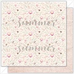 Лист бумаги для скрапбукинга Summer Studio BABY GARDEN коллекция Mother's tenderness 30х30см
