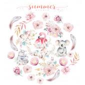 Набор высечек для украшения Summer Studio MOTHER'S TENDERNESS