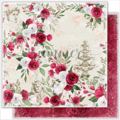 Лист бумаги для скрапбукинга Summer Studio ANTIQUE GARDEN коллекция Antique Garden 30х30см