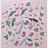 Набор высечек для украшения Summer Studio BIRD OF PARADISE