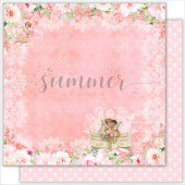 Лист бумаги для скрапбукинга Summer Studio SPECIAL DAY коллекция Vintage Wedding 30х30см