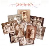 Набор карточек для украшения Summer Studio VINTAGE WEDDING