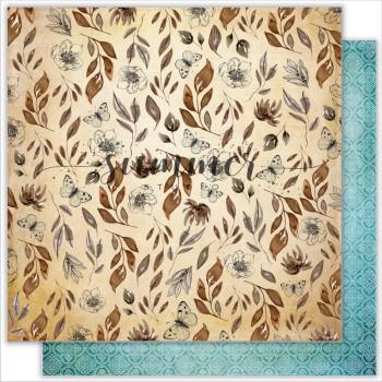 Лист бумаги для скрапбукинга Summer Studio HARMONY коллекция Something Blue 30х30см