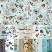 Набор бумаги для скрапбукинга Summer Studio SOMETHING BLUE 30х30см