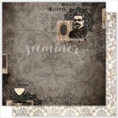Лист бумаги для скрапбукинга Summer Studio EMPORIUM коллекция Dreamland 30х30см