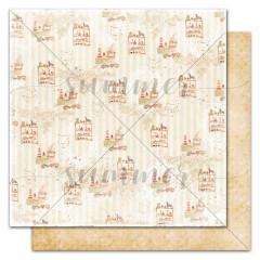Лист бумаги для скрапбукинга Summer Studio BABY TOYS коллекция Nursery 30х30см
