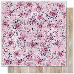 Лист бумаги для скрапбукинга Summer Studio BEAUTIFUL GARDEN коллекция Marseille 30х30см