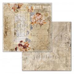 Лист бумаги для скрапбукинга Summer Studio AMBER FALL коллекция Autumn Vibes 30х30см