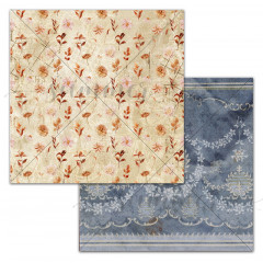 Лист бумаги для скрапбукинга Summer Studio AUTUMN WINGS коллекция Autumn Vibes 30х30см
