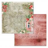 Лист бумаги для скрапбукинга Summer Studio STORY коллекция Vintage Winter 30х30см