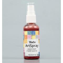Акриловая спрей-краска WizzArt ARTSPRAY РУБИН